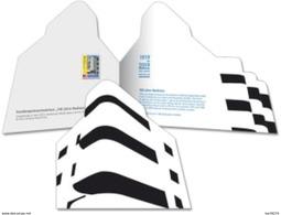 Deutsche Post 2019 - Special Poster Card (Klappkarte) Bauhaus - Bruno House In Tel Aviv - Maximum Cards