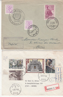 2  Enveloppes   1960  1971 - Belgium