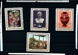 6561B)  CUBA-MUSEUM PAINTINGS Art CPL SET Of 4 1964-MNH** - Nuovi