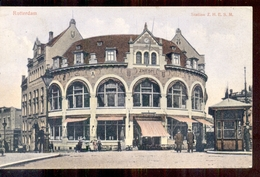 Rotterdam - Station ZHESM - 1911 - Langebalk Stempel - Rotterdam