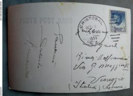 Colon República De Panamá 1950 Cristóbal Photo Post Card John F. Stevens 5 Cents Canal Zone Postage - Panama