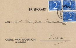 15 VI 1949 Bk Met Firmalogo Van Nijmegen Naar Boekelo - Poststempels/ Marcofilie