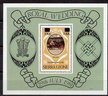 SIERRA LEONE   Timbre Neuf ** De 1982  ( Ref 6679 )  Elisabeth II - Couronnement - Sierra Leone (1961-...)