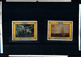 6562B)  CUBA 1963 QUADRI DEL MUSEO POSTALE-MNH** - Nuovi