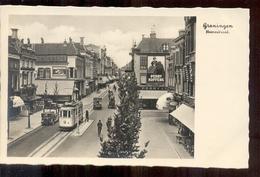 Groningen - Heeerestraat - Tram - Perry Koffers - 1935 - Groningen