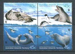 249 AUSTRALIE Antarctic 2001 - Yvert 145/48 - Mammifere Marin Polaire Antarctique - Neuf ** (MNH) Sans Charniere - Unused Stamps