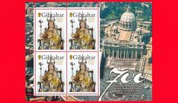 Nuovo - MNH - GIBILTERRA - 2009 - Nostra Signora D'Europa - Our Lady Of Europe - Congiunta Vaticano - Gibilterra
