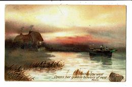 CPA - Carte Postale-Royaume Uni-paysage Bucolique : When The West Open ... VM5525 - United Kingdom