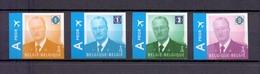 3867/3870 KONING ALBERT II  ONGETAND POSTFRIS** 2009 - Belgique