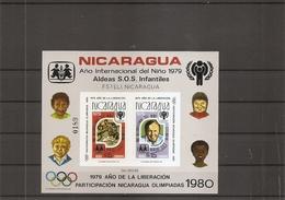 Nicaragua  ( BF 110 Non Dentelé XXX -MNH) - Nicaragua