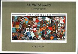 6565B)  CUBA QUADRI DEL SALON DE MAYO HABANA 1967-1 BF.-MNH** - Nuovi