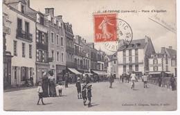 44  Loire Atlantique -  LE CROISIC -  Place D'Aiguillon - 1916 - Le Croisic