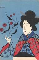 Illustrateur Japonais  A.ARAMAC - GEISHA -Ed.P.L. - Autres Illustrateurs
