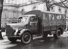 Merzedes Lastwagen Der 50er Jahre - Camions & Poids Lourds