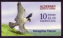 ALDERNEY MH 0-6 POSTFRISCH(MINT) WANDERFALKE - Alderney