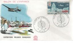 FDC -  Enveloppe 1er Jour SALON DE L'ENFANCE - 30-x-1968 PARIS - FDC