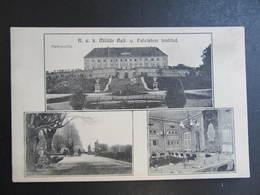 AK SCHLOSSHOF Schloss Hof B. Engelhartstetten B. Gänserndorf Ca.1920 ///  D*39754 - Gänserndorf