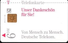 ! Telefonkarte, Telecarte, Phonecard, 1996, AD, 1.96,  Telekom, Germany - Deutschland
