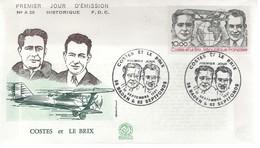 FDC -  Enveloppe 1er Jour COSTES ET LE BRIX - 12 Septembre 1981 - BADEN - FDC
