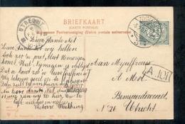 Nymegen Nijmegen - Langebalk Stempel - 1907 - Nijmegen