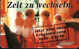 ! Telefonkarte, Telecarte, Phonecard, 1998, R04, Auflage 150000, Erdgas Schwaben, Germany - Deutschland
