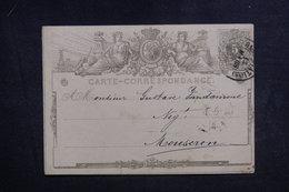 BELGIQUE - Entier Postal Pour Mouscron En 1872 - L 38876 - Postales [1871-09]