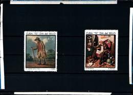 6568B)  CUBA Sc# 1331-1332 STAMP DAY Philately Philatelic CPL SET Of 2 1968.-MNH** - Nuovi