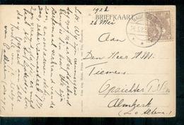 Wagenberg - Langebalk Stempel - 1922 Drimmelen - Niederlande