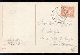 Noordhorn - Langebalk Stempel - 1913 - Pays-Bas