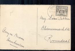 Hornhuizen - Langebalk Stempel - 1933 - Pays-Bas