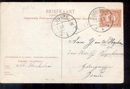 Oudeschoot - Langebalk Stempel - Joure - 1909 - Autres