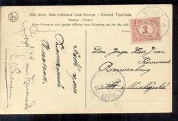 Nunen - Langebalk Stempel - 1913 - Pays-Bas