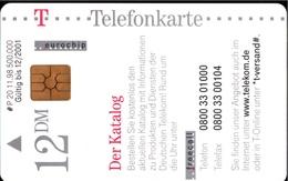 ! Telefonkarte, Telecarte, Phonecard, 1998, P20, Auflage 500000, Telekom Der Katalog, Germany - Deutschland
