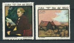 6570B)  CUBA 1969 - SERIE COMPLETA ** GIORN. FRANCOBOLLO N°1272/73-MNH** - Nuovi