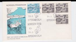 Sweden 1969 FDC NORDEN (G101-52) - Vereine & Verbände