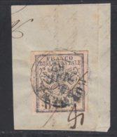 Etats Pontificaux 1852 Yvert 6 (o) B Oblitere(s) - Etats Pontificaux