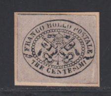 Etats Pontificaux 1867 Yvert 13 (*) B Neuf Sans Gomme - Etats Pontificaux