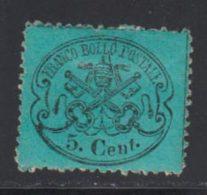 Etats Pontificaux 1868 Yvert 21 * B Charniere(s) - Etats Pontificaux