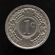 Netherlands Antilles 1 Cent 2001. Km32. Uncirculated. Plants Coin. - Antillen (Niederländische)