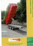 Prospectus,doc,pub,catalogue, Remorques Brimont - Agriculture