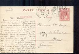 Eijsden - Langebalk Stempel - 1908 - Eijsden