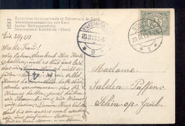 Gulpen - Langebalk Stempel - 1913 - Pays-Bas