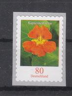 Deutschland BRD **    3482 Blumen Kapuzinerkresse Skl Neuausgabe 1.8.2019 - BRD