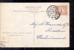 Nieuwesluis Heenveliet - Grootrond - 1908 - Pays-Bas