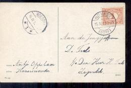 Hazerswoude Dorp - Woerden - Langebalk Stempel - 1913 - Altri