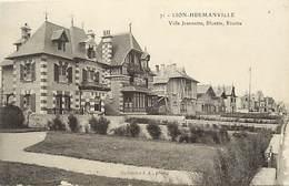 - Calvados -ref-G88- Lion Sur Mer - Hermanville - Villa Jeanette - Bluette - Risette - Villas -batiments Et Architecture - France