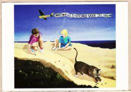 Cpfete 109 NATIONAL Postcard Week May 2000 JEU De BILLES Huile Toile Denis SEIGNEZ Pour Bert COHEN - NAVILIAT CP-072 - Autres