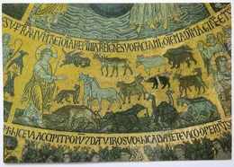 ST. MARK'S BASILICA, VENICE MOSAIC - CREATION OF TERRESTRIAL CREATURES - Venezia (Venice)
