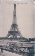 POSTAL PARIS VII - LA TOUR EIFFEL - LL - ESCRITA - Tour Eiffel