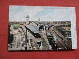 New Railroad Station    Connecticut > Bridgeport  3548 - Bridgeport